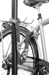 AXA Defender, Fahrradschloss, Radschloss, abschließen, anschließen, Fahrrad Kamphaus