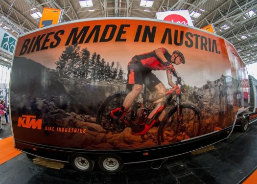 Frühlingserwachen, KTM-Bikes, Showtruck, Eventmobil, Showroom, Aktion